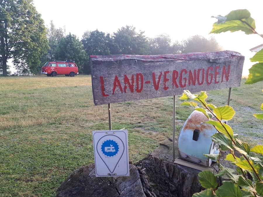 Landvergnügen