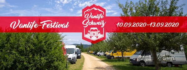 Vanlife Treffen Schweiz 2020