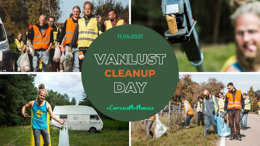#CampierenMitManieren_Vanlust_Cleanup_Day_11. April 2021