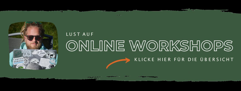 Vanlust Online Workshops Banner