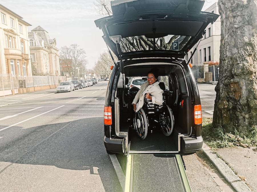 Reisen mit Hindernissen - Kim Wheelie Wanderlust - Umbau Caddy