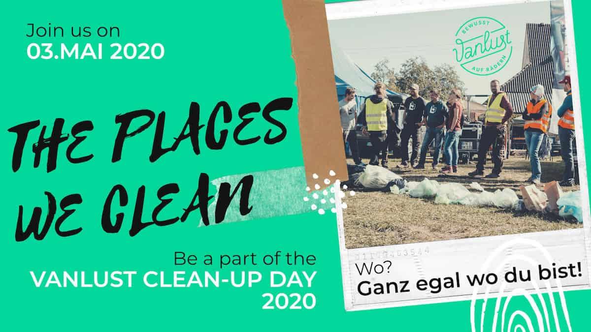 Vanlust Clean-Up Day 2020 - Places we clean
