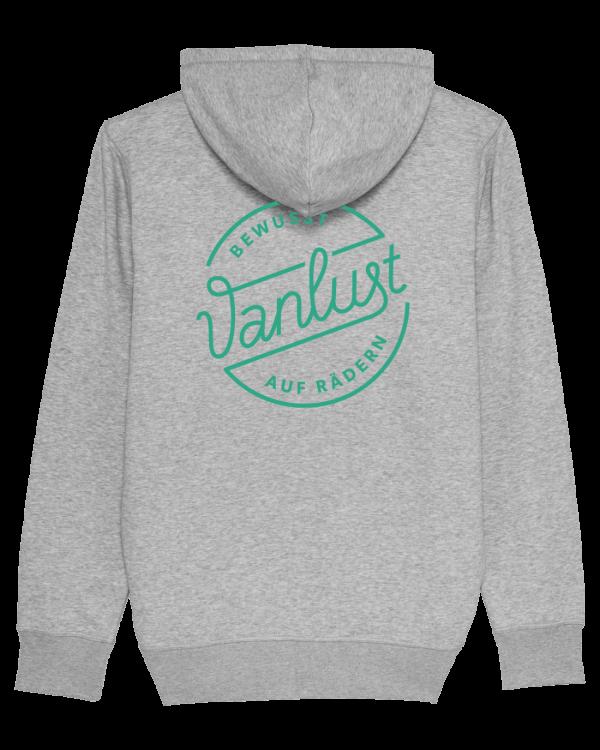 Unisex Sweatjacke Vanlust_back