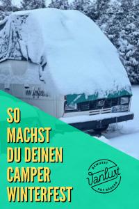 Camper winterfest machen