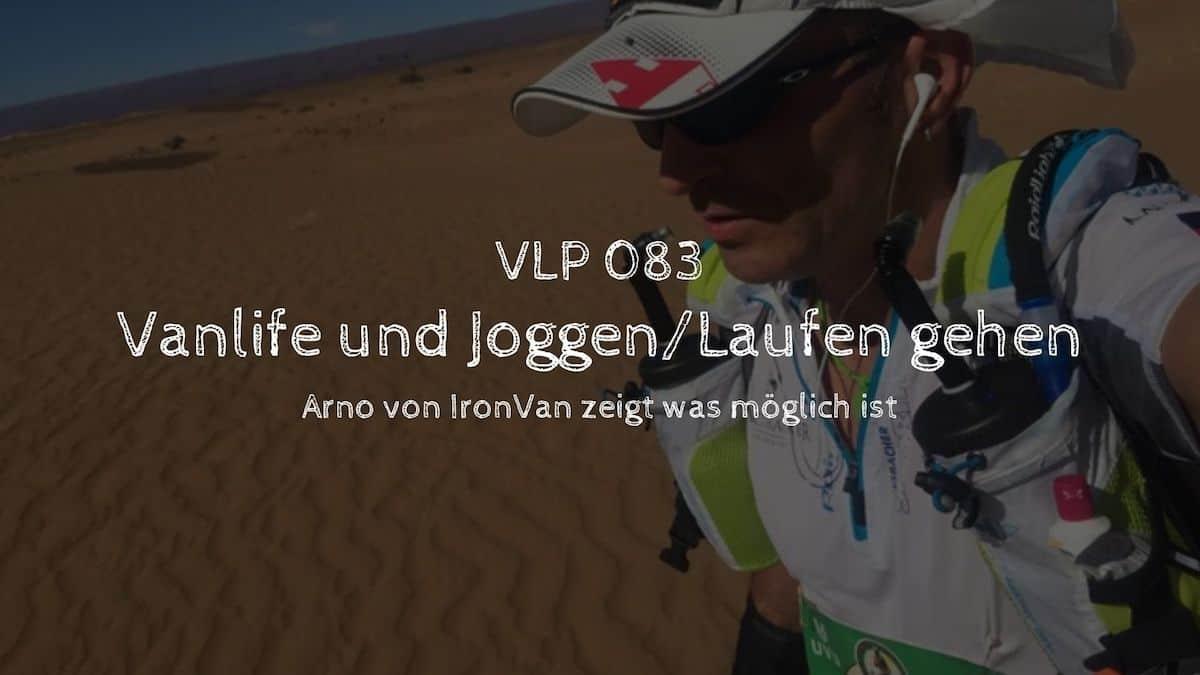 Vanlife und Joggen / Laufen gehen? - Arno von IronVan zeigt was möglich ist