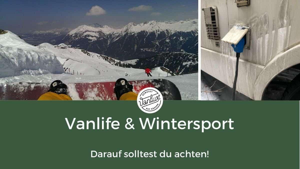 Vanlife und Wintersport