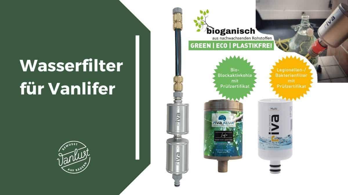 Vanlife Trinkwasserfilter - Riva Filter