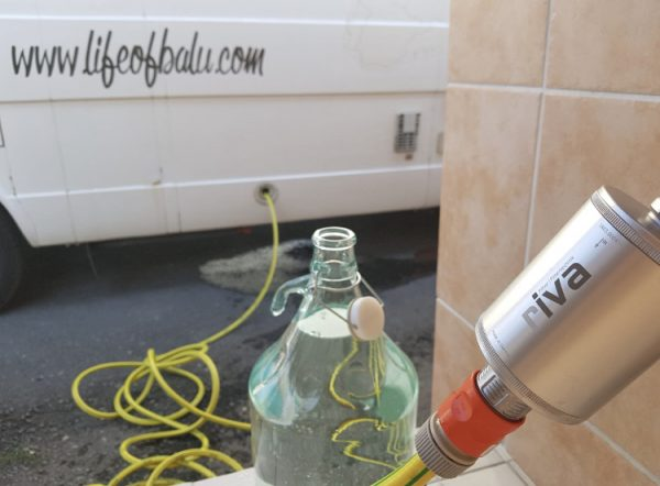 Vanlife Wasserfiltersystem