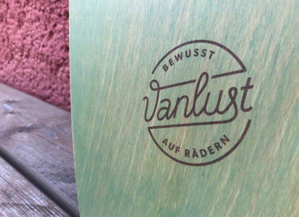 Vanlust Green Nature - Logo graviert