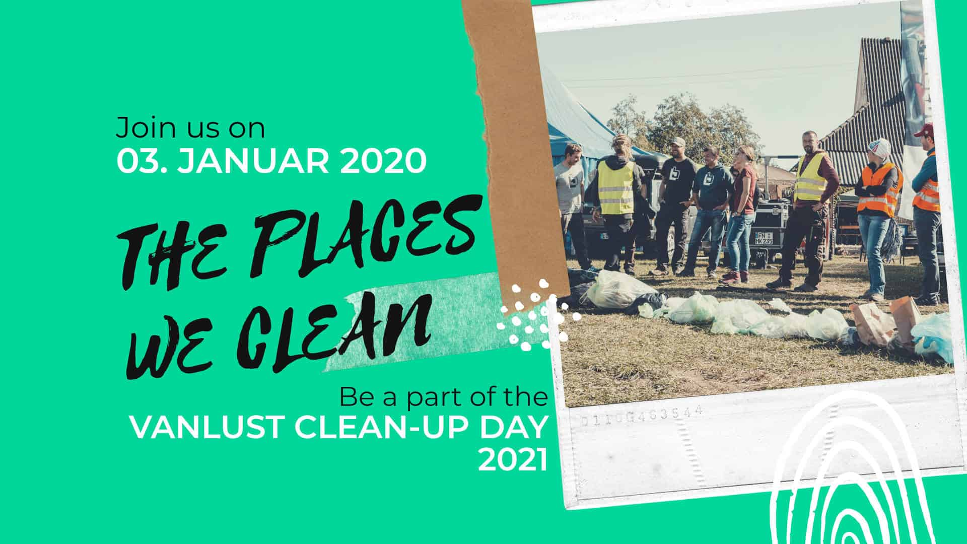 Vanlust NEUJAHRS-Clean-Up Day 03.01.2021
