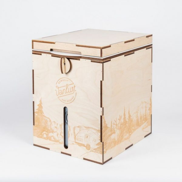Vanlust TrockenTrennToilette / Komposttoilette Bausatz MiniLoo